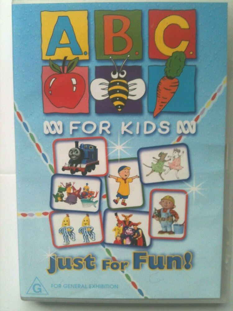 Just For Fun Drawings Education: ABC FOR KIDS ~ JUST FOR FUN ~ RARE DVD 9398710418194