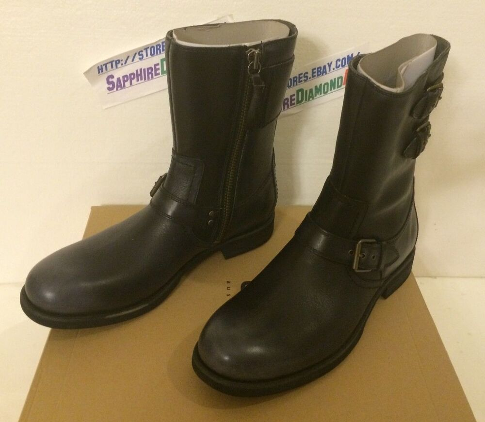 ugg s m arthro 1005177 m black leather boots size us