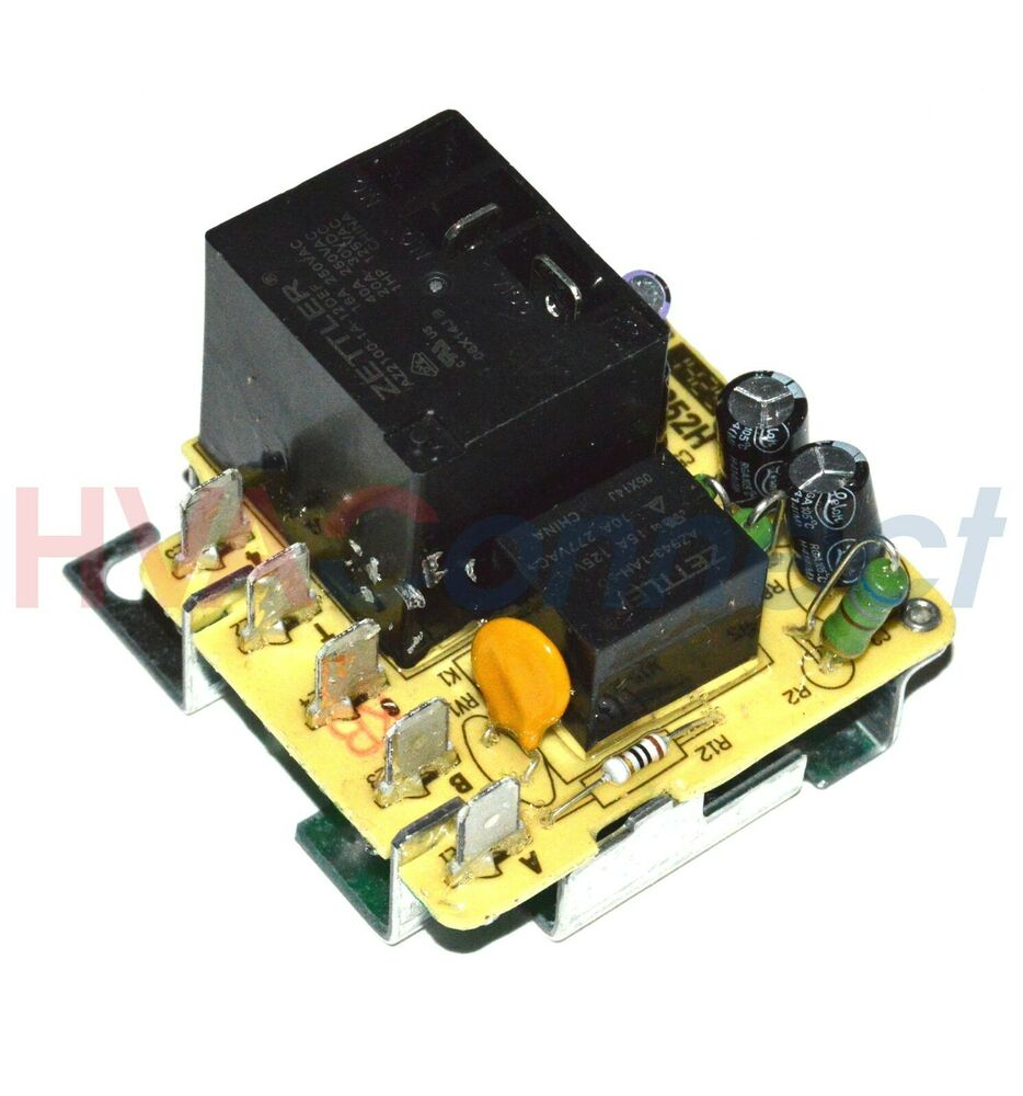 Trane blower motor relay fan zettler 4352h rly02807 ebay for Relay switch for blower motor
