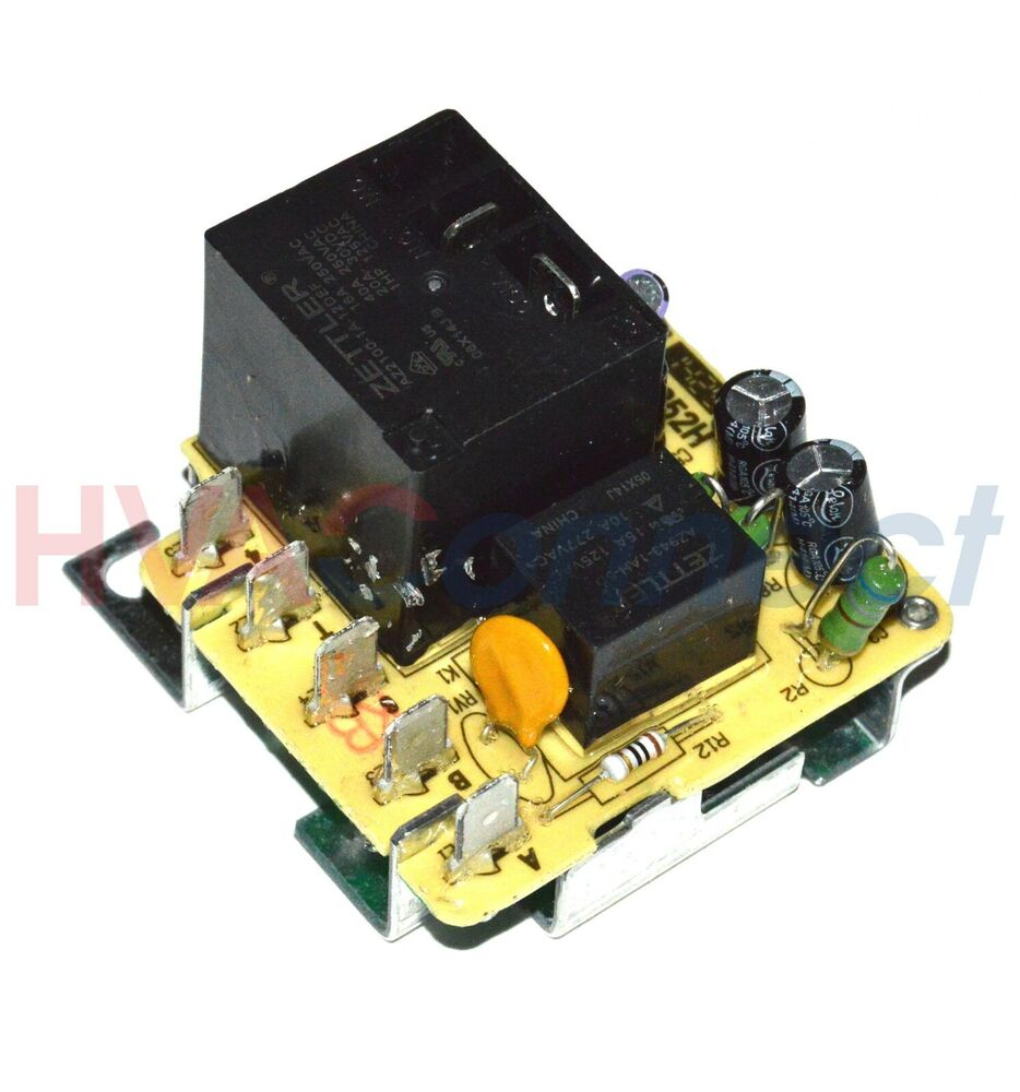 Trane blower motor relay fan zettler rly2258 rly02258 ebay for Relay switch for blower motor