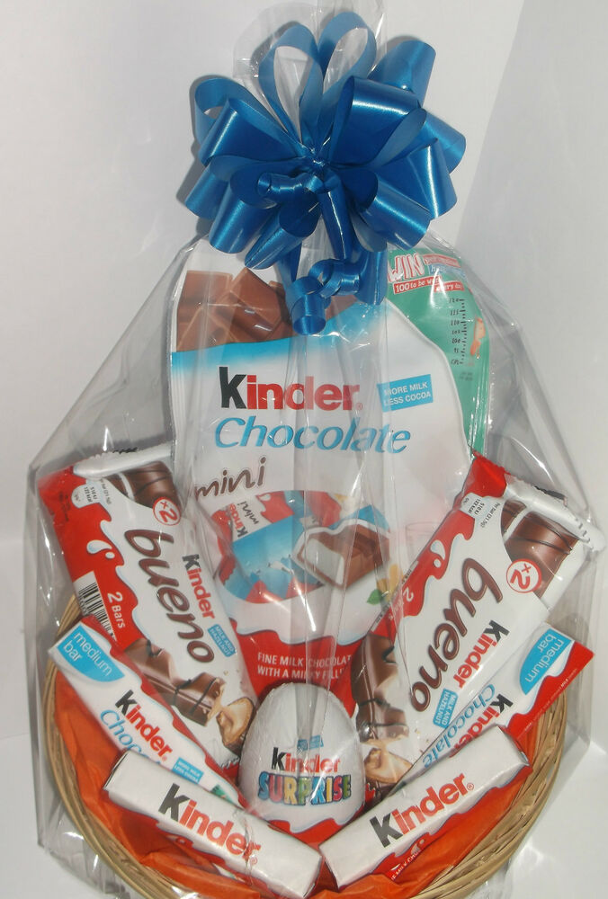 Details About Kinder Egg Surprise Gift Hamper Birthday For Boy Girl Sweets Chocolate