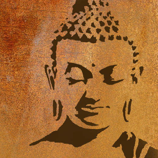 buddha stencil home wall decor art craft paint reusable ideal stencil ebay. Black Bedroom Furniture Sets. Home Design Ideas