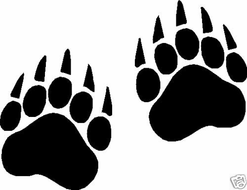 Bewitching image intended for printable paw print