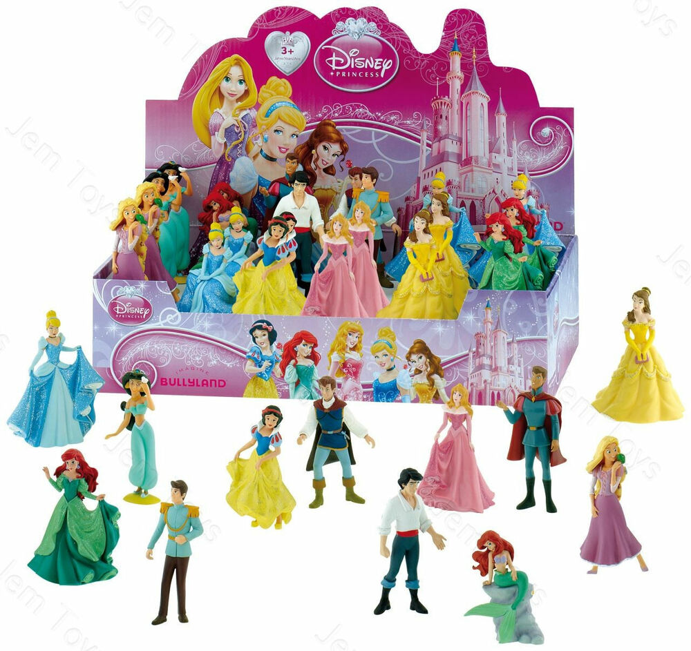 Toys For Disney : Official disney princess figures figurine toy cake topper