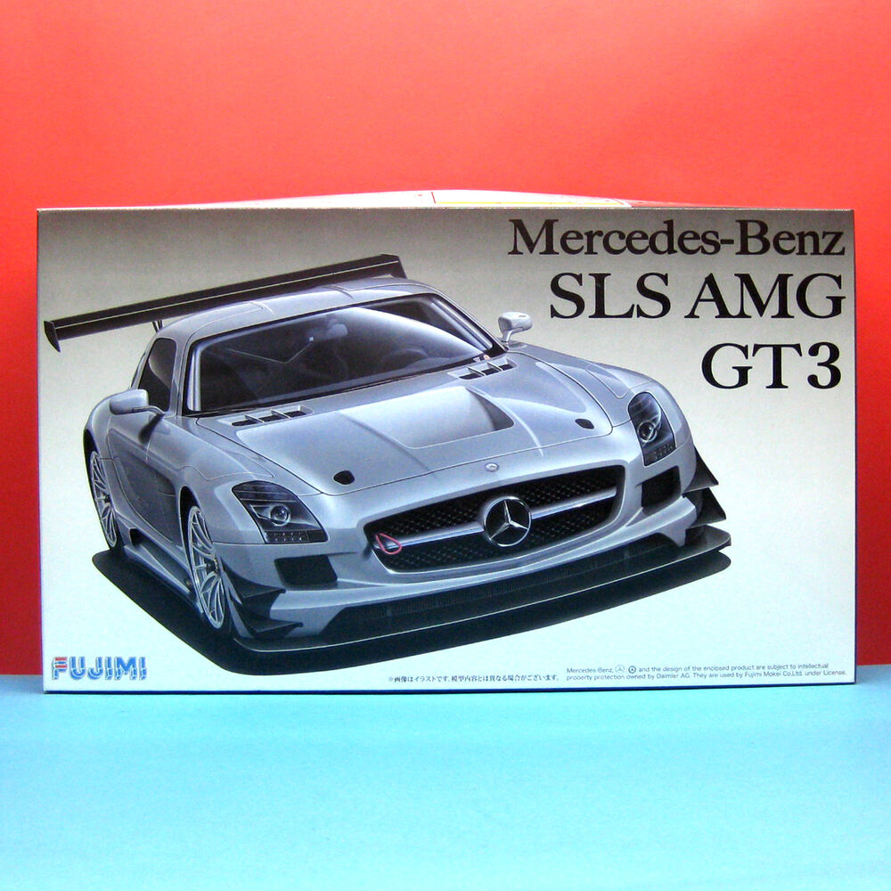Fujimi 1 24 mercedes benz sls amg gt3 model kit with photo for Mercedes benz amg kit