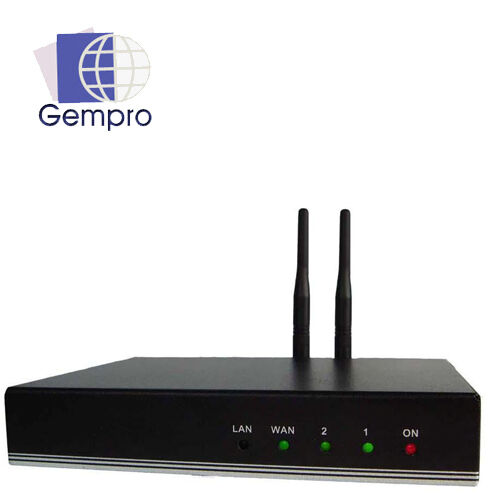 Gempro GP-712A Bluetooth VoIP Gateway 2 SIP Channel, Support