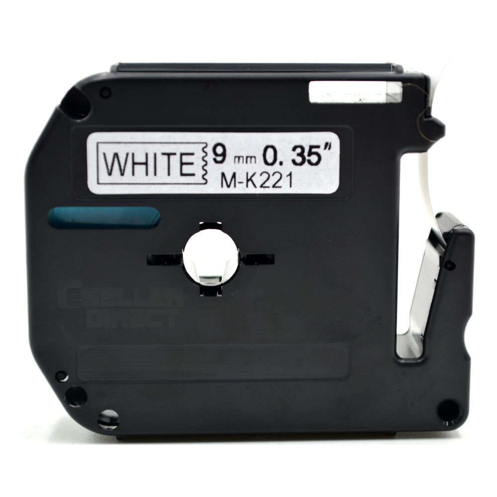 Compatible Brother MK-221 P-Touch Black On White Label