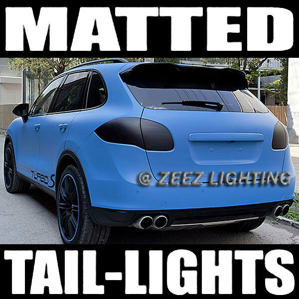 Black Out Matte Taillight Tint Smoked Head Fog Tail Light