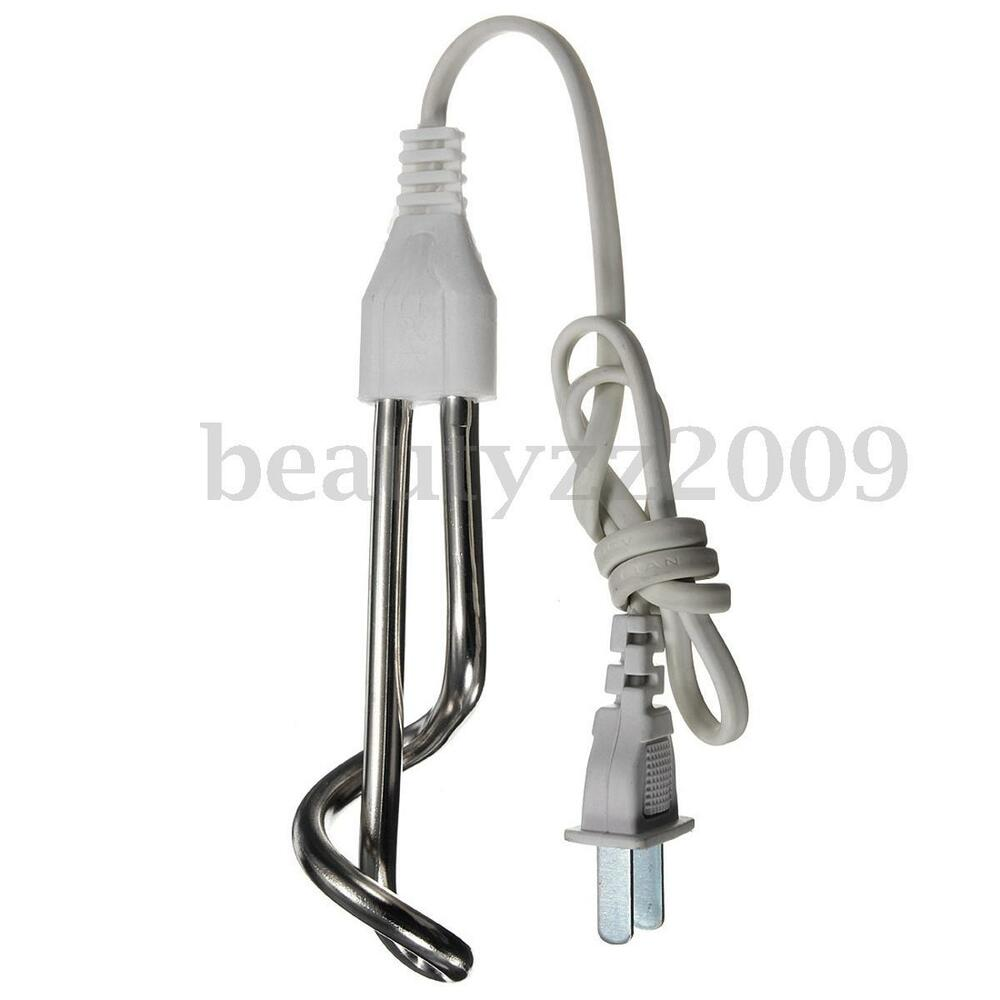 Portable Water Boiler ~ W electric water heater liquids immersion travel