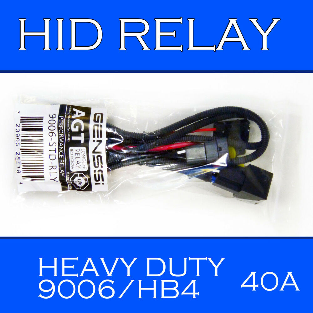 9006 9005 type hid relay wiring harness for hid kit installation xenon battery ebay. Black Bedroom Furniture Sets. Home Design Ideas