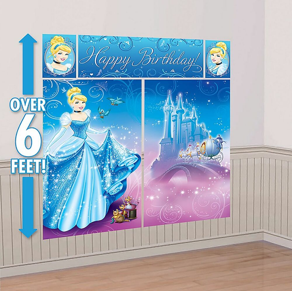 Princess Party Wall Decorations - Home & Furniture Design ...