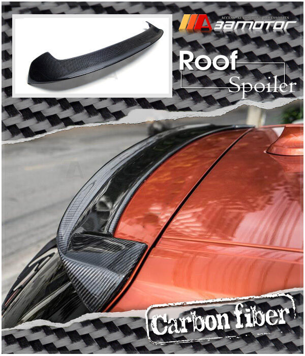3d carbon fiber window roof spoiler for bmw f20 pre lci 1. Black Bedroom Furniture Sets. Home Design Ideas