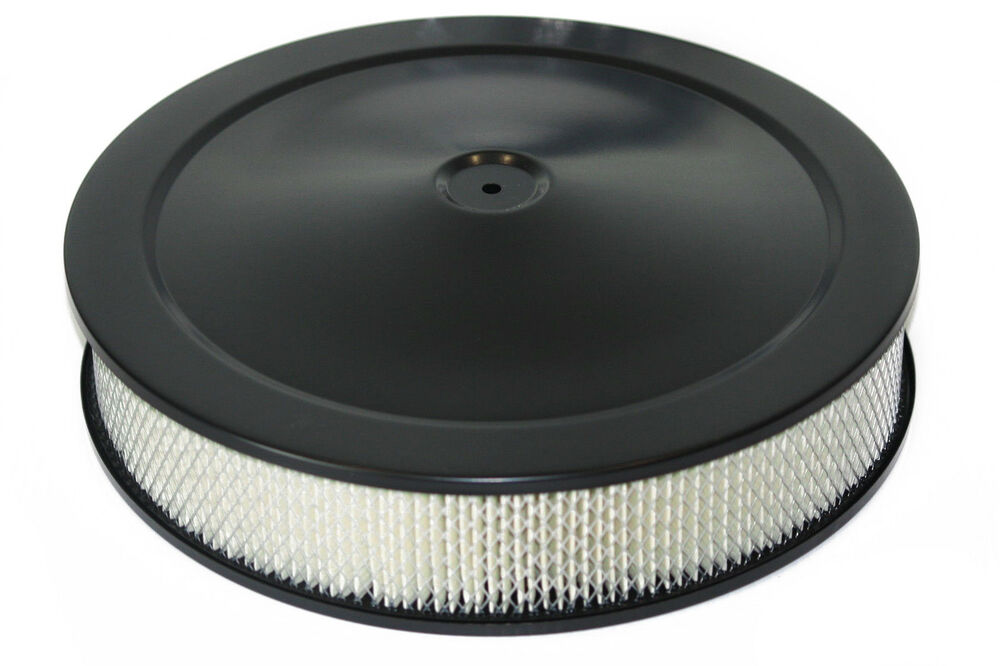 Hot Rod Air Cleaner : Quot x black air filter cleaner pro street touring hot