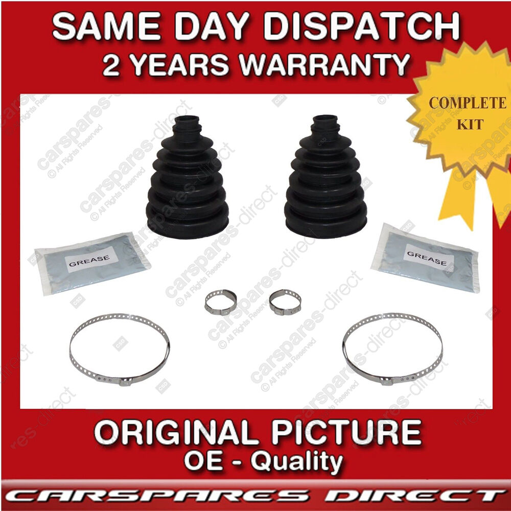 2x volkswagen cv joint boot kit cone cv bootkit cone