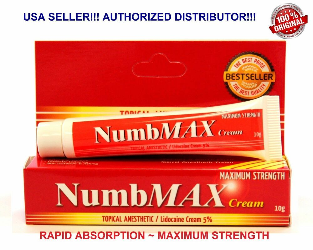 Numbmax topical anesthetic tattoo waxing speed numbing for Best tattoo numbing cream
