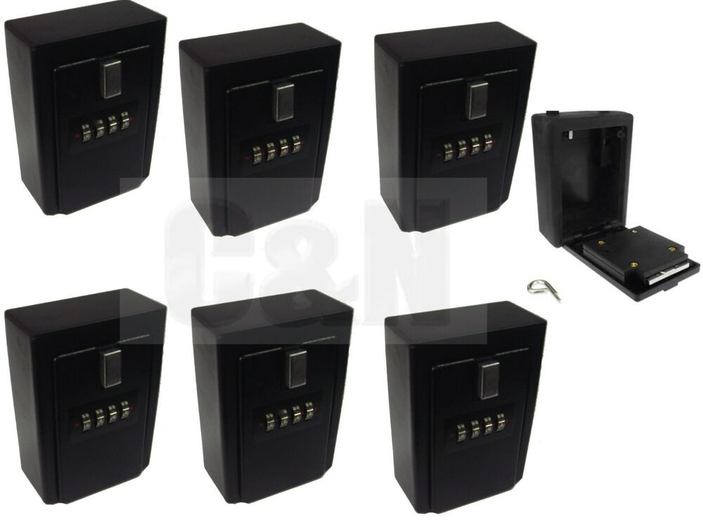Wall Mount Lockboxes Real Estate 4 Digit Key Card Lock Box