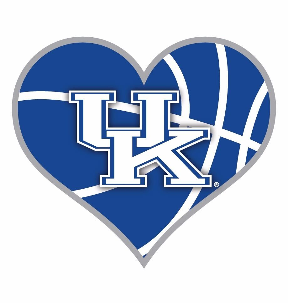 KENTUCKY BASKETBALL HEART MAGNET- UNIVERSITY OF KENTUCKY BASKETBALL MAGNET | eBay