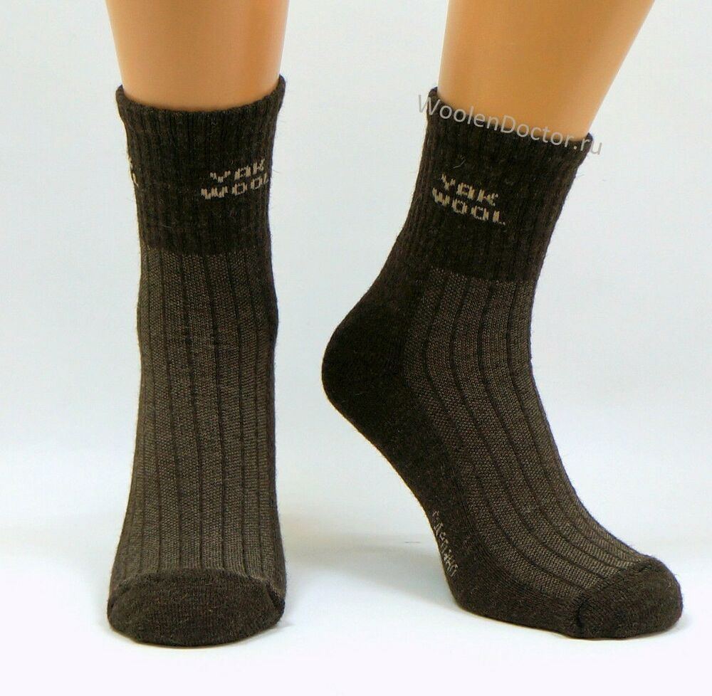 Mens Very Warm Thermal Thick Heavy duty 90/% Yak Wool boot Hiking Hunting Socks
