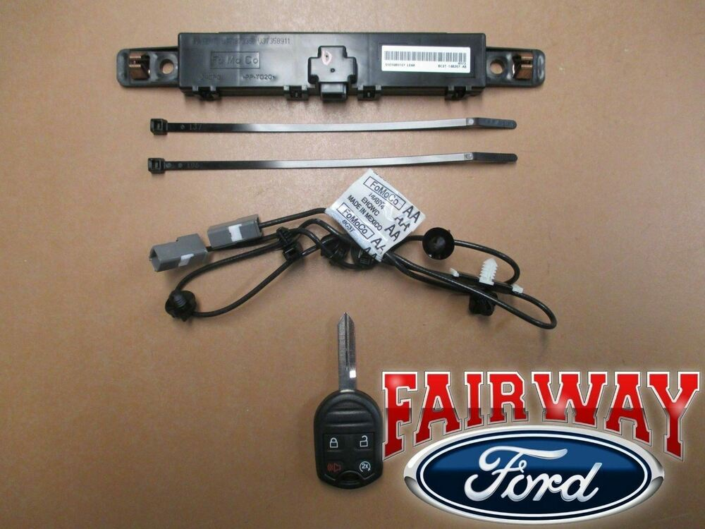 Plug And Play Remote Car Starter For Ford Edge
