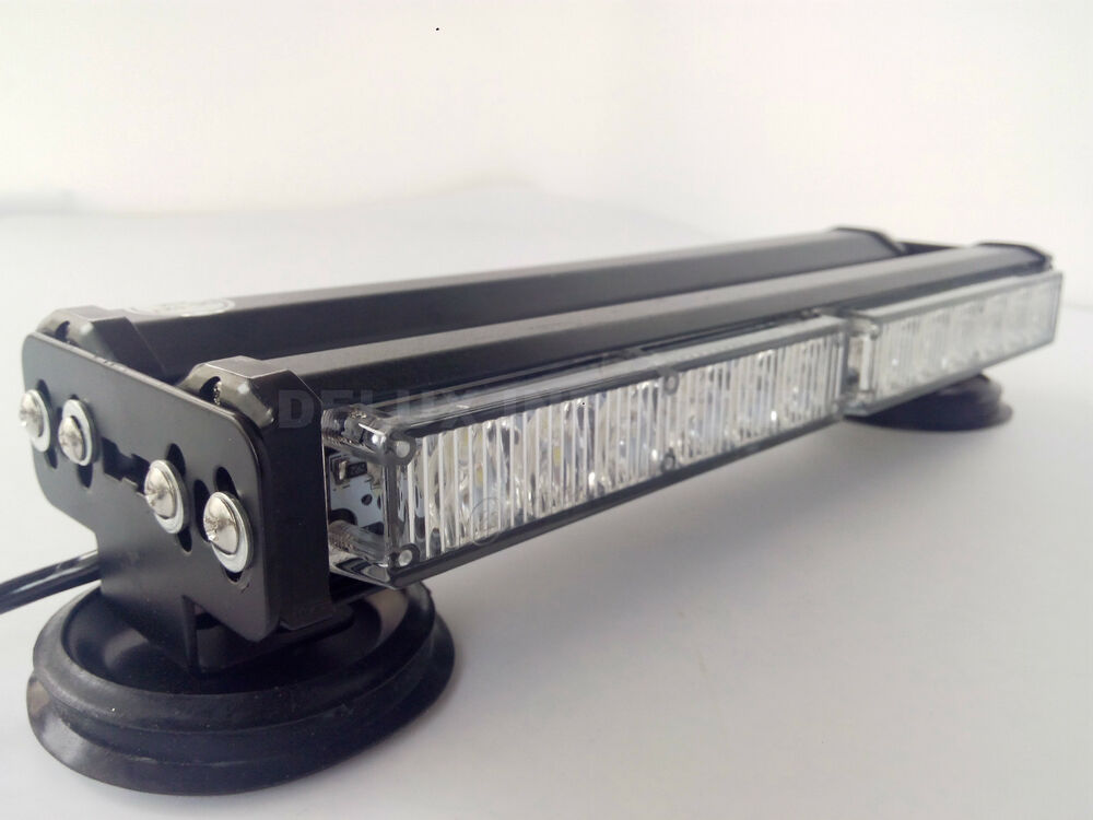 double side 72w led work light bar beacon recovery warning. Black Bedroom Furniture Sets. Home Design Ideas
