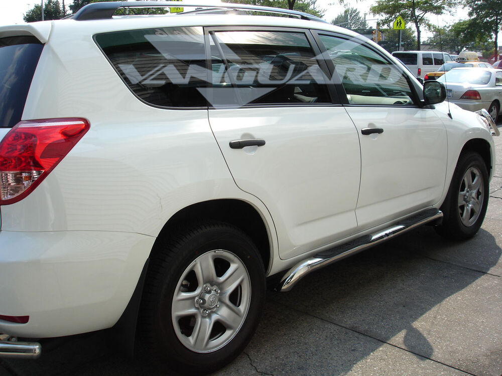 Vanguard 06 12 Toyota Rav4 Side Step Nerf Bar Running