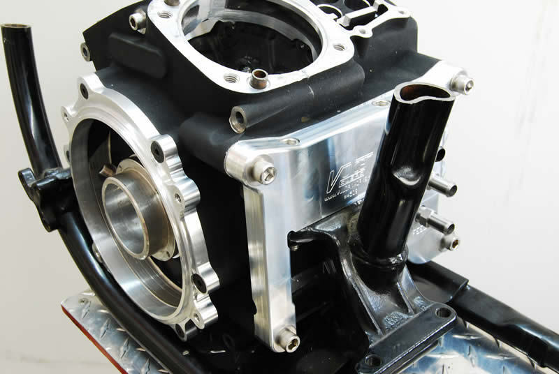 2006  harley twin cam 96 u0026quot  motor to evo frame adapter plate