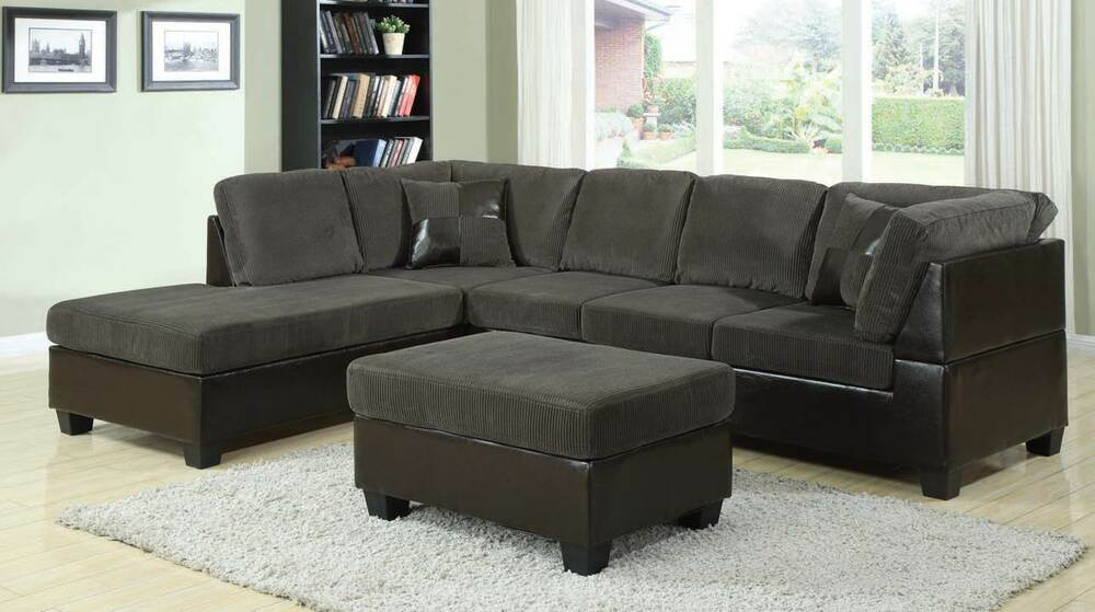 connel olive green sectional sofa w2 pillows 2 pc living