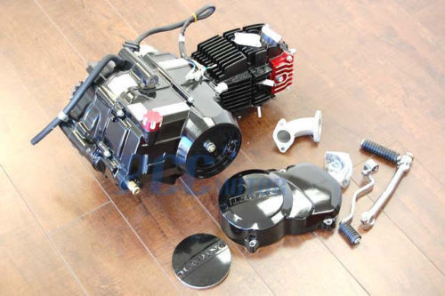 lifan semi auto 125cc engine 4 speed dress up kit pit dirt