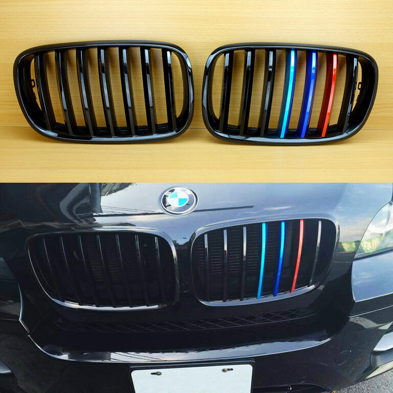 Bmw X6m Review: Metal Style ///M Color Front Grill For BMW E71 X6 & E70 X5