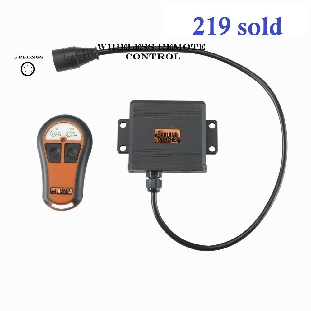 winch switch wireless winch remote control badlands winches in out switch five prongs male