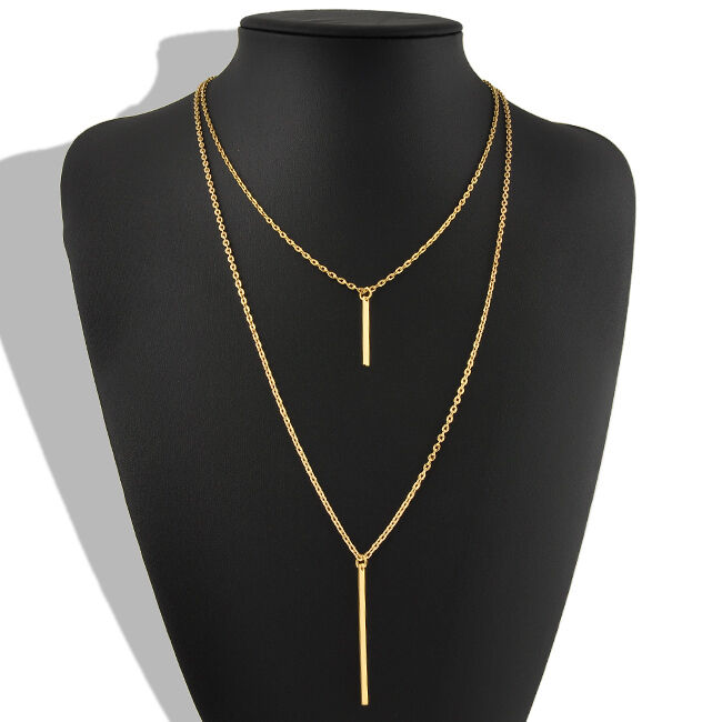 hot womens bohemian gold plated long sweater chain. Black Bedroom Furniture Sets. Home Design Ideas