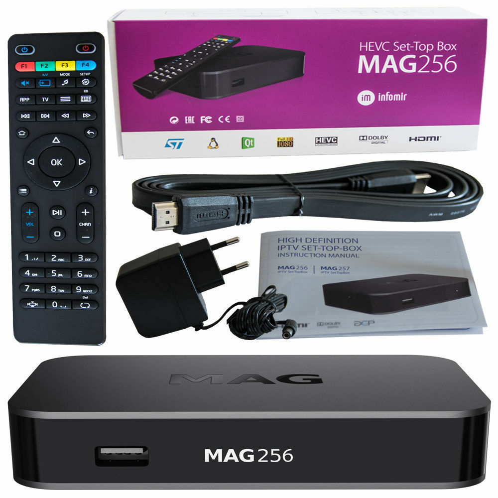 mag 256 w1 wlan wifi 150m integrated onboard streamer set top box internet iptv ebay. Black Bedroom Furniture Sets. Home Design Ideas