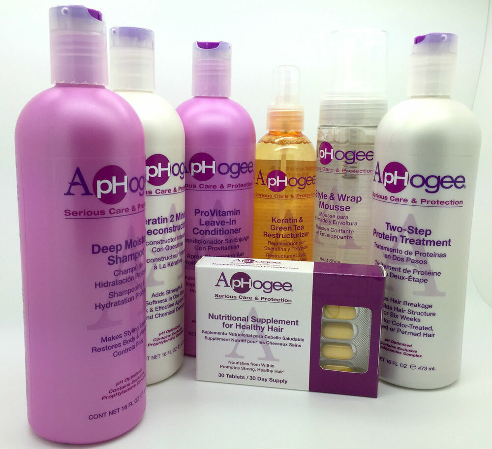 Aphogee Treatment And Repair Hair Products Ebay