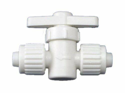 Flair It Fresh Water Shut Off Stop Valve RV Marine Mobile