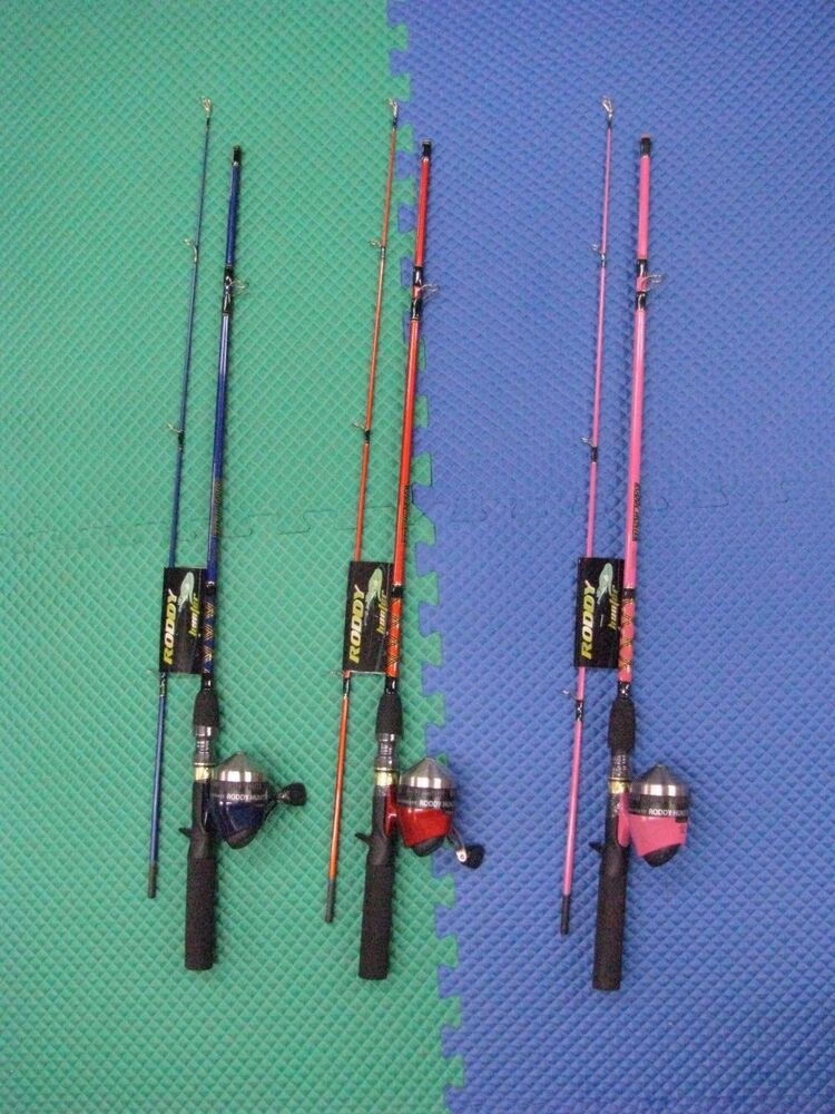 Master tackle roddy hunter spincast combo 5 39 6 choose your for Roddy hunter fishing rod