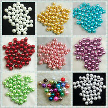 100Pcs Top Quality Czech Glass Pearl Round Loose Spacer Beads  3 4 6 8 10 12mm