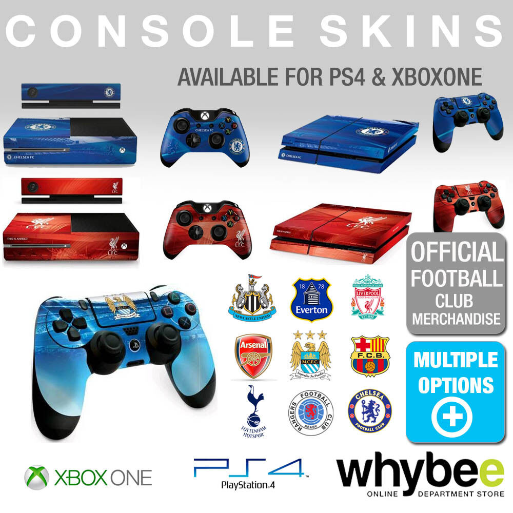 XBOX ONE AND PS4 OFFICIAL FOOTBALL CLUB SKINS CONSOLE AND ... Official Xbox One Console
