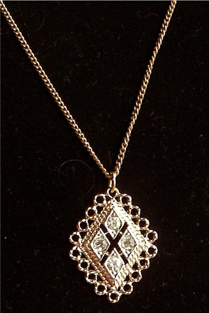 cov jewelry rhinestone necklace quot candlelite quot coventry jewelry 9312