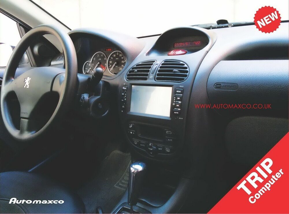 autoradio cran tactile oem no dvd gps navi peugeot 206. Black Bedroom Furniture Sets. Home Design Ideas