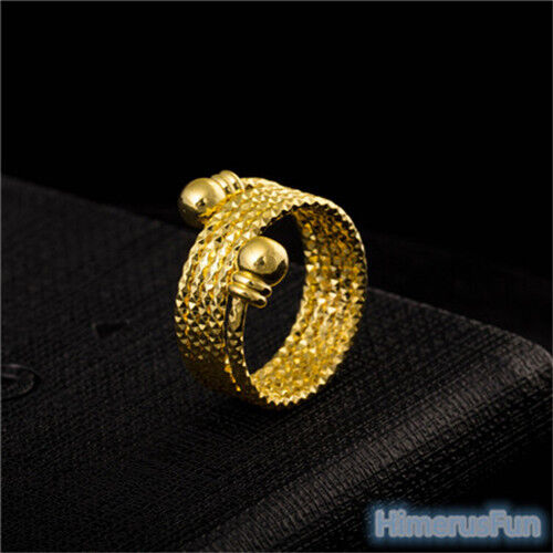unique design 18k yellow gold plated fashion finger rings