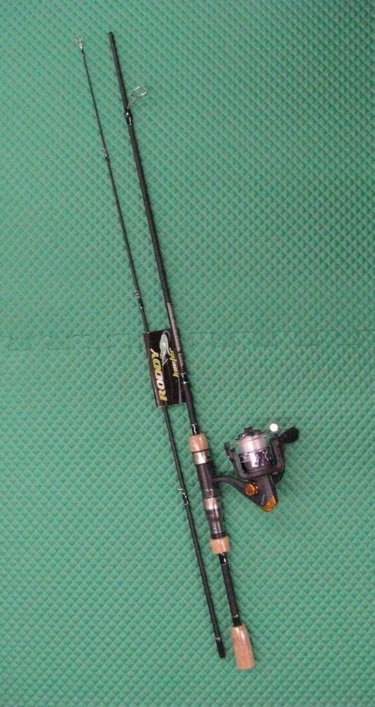 Roddy hunter limited edition 6 39 spinning rod reel combo for Roddy hunter fishing rod