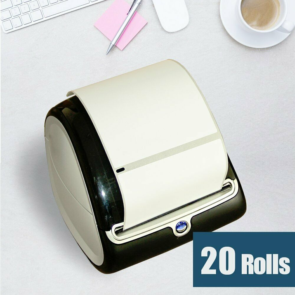 20 rolls 4x6 thermal shippinng labels 1744907 compatible for Dymo 4x6 label printer