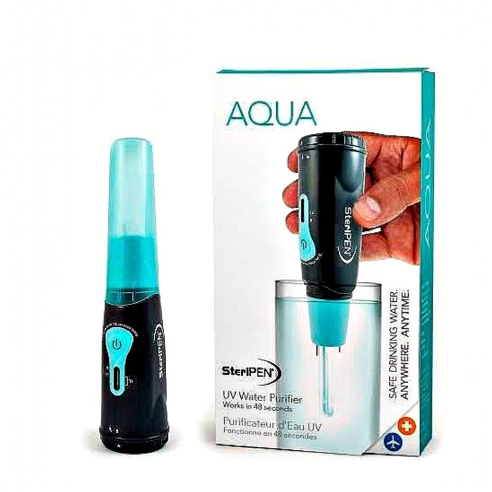 aqua aq mp ef portable uv light water purifier free ship ebay. Black Bedroom Furniture Sets. Home Design Ideas