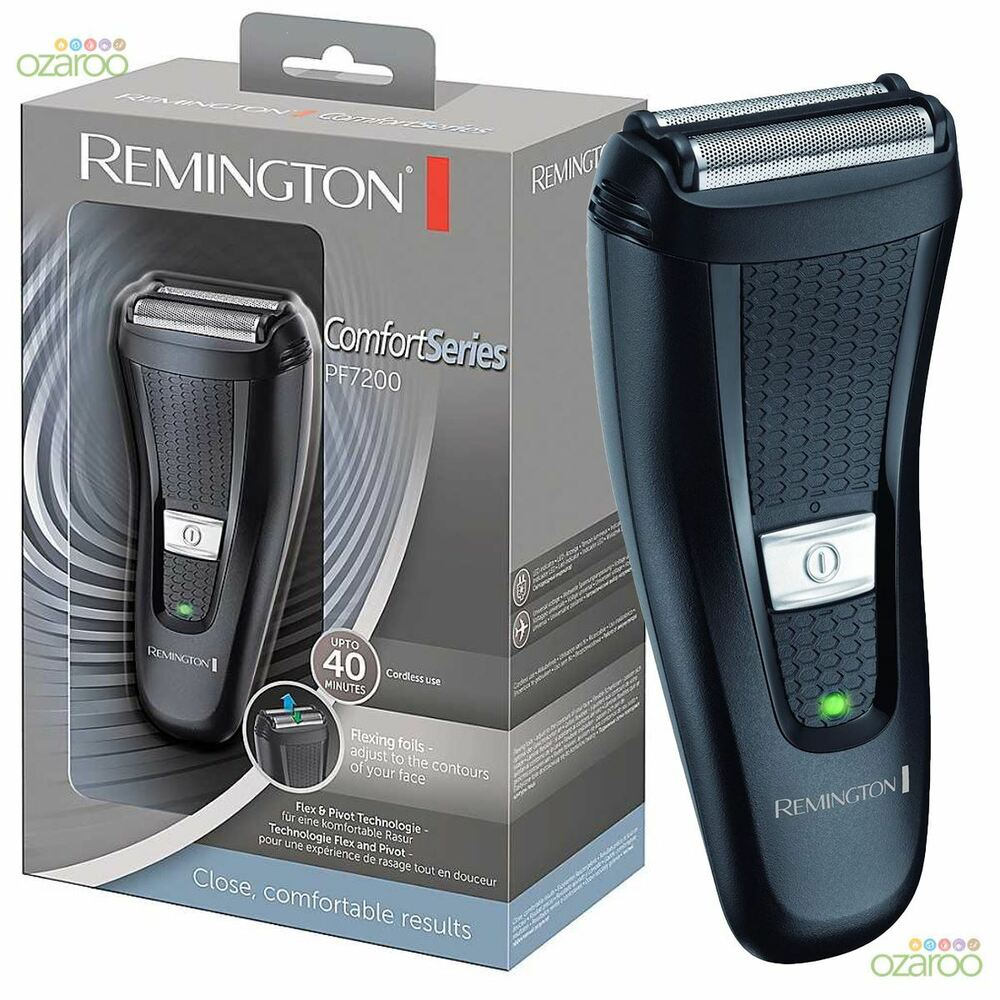 Remington Mens Comfort Series Dual Foil Cordless