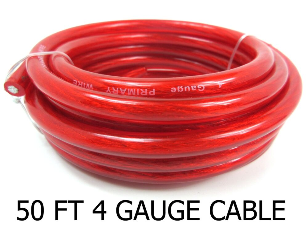 what gauge wire is needed for 50 amps