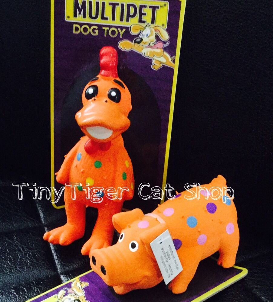 Multi Squeaker Dog Toy