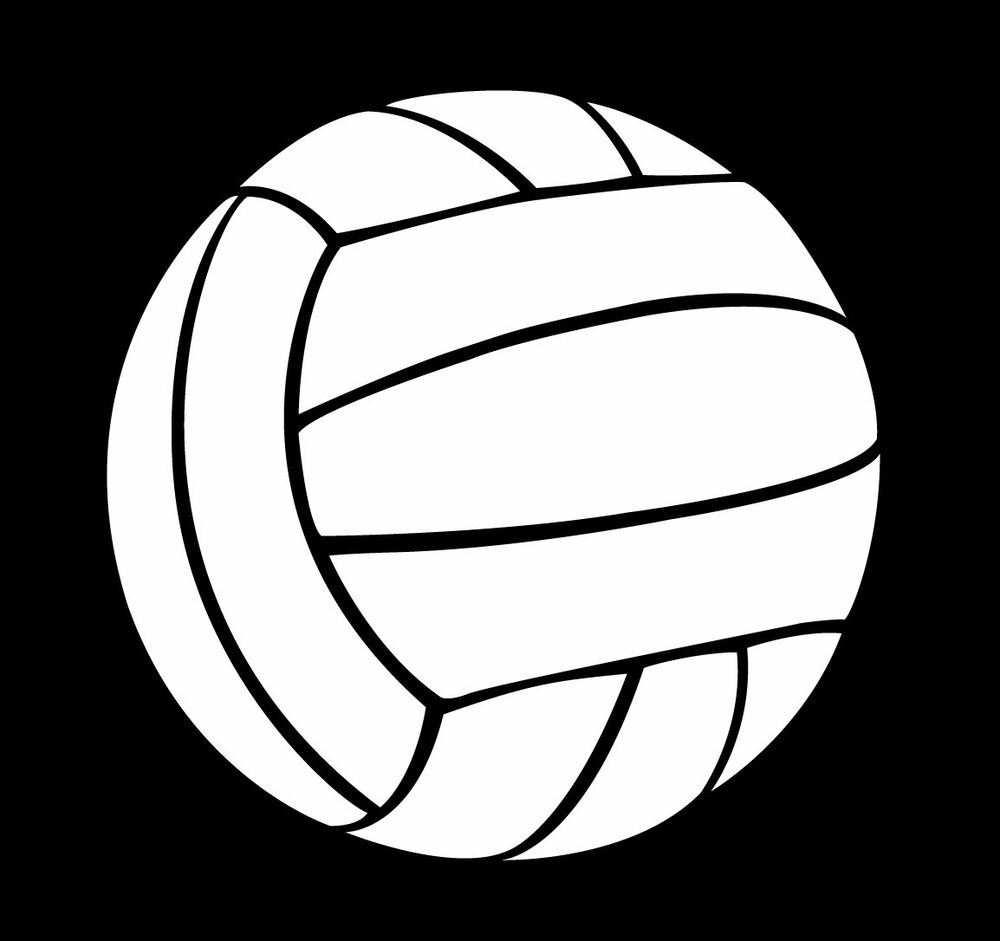 a volleyball vinyl sticker or decal great for car or purchase clip art online purchase clip art high school