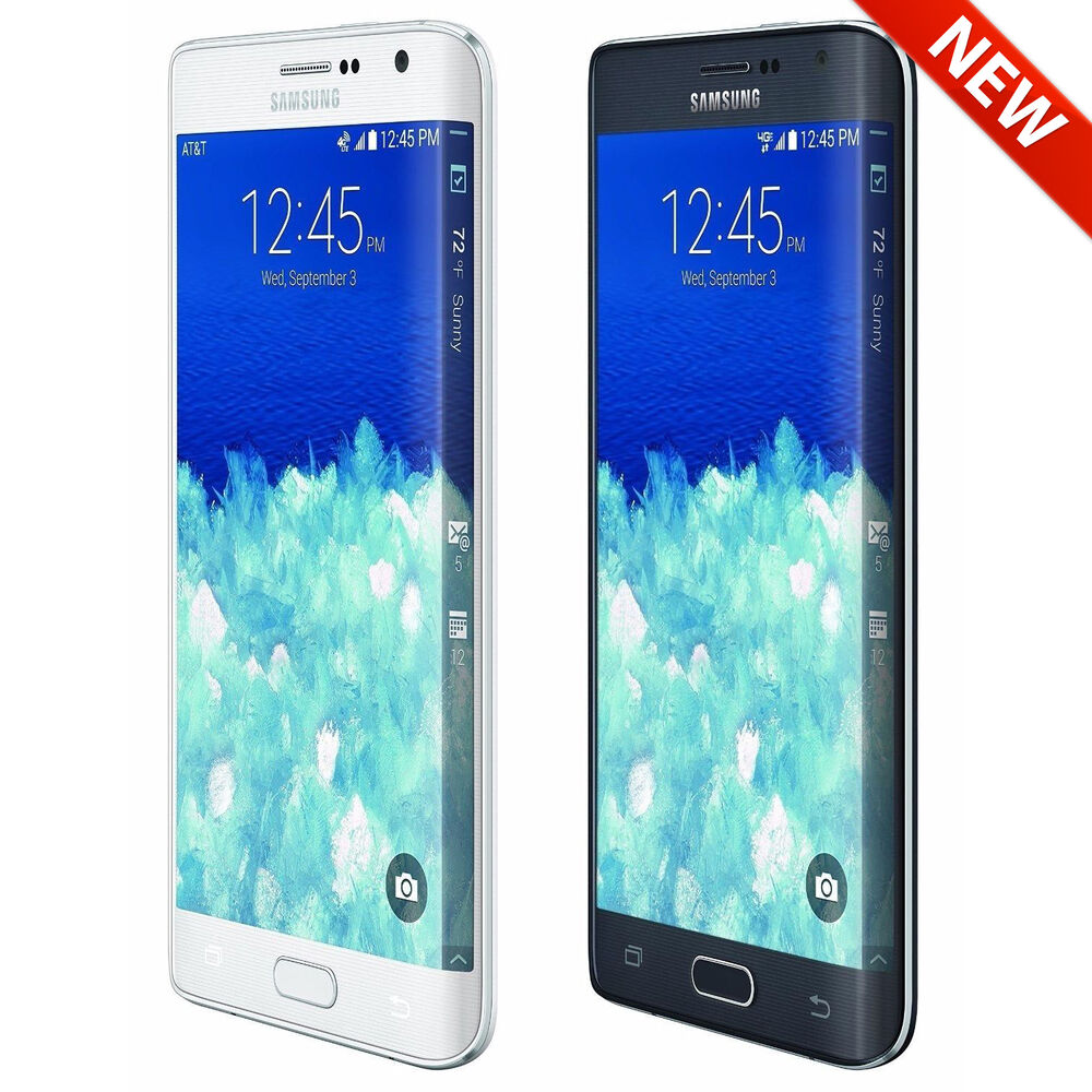 new samsung galaxy note edge 32gb unlocked sm n915a at t tmobile smartphone ebay. Black Bedroom Furniture Sets. Home Design Ideas