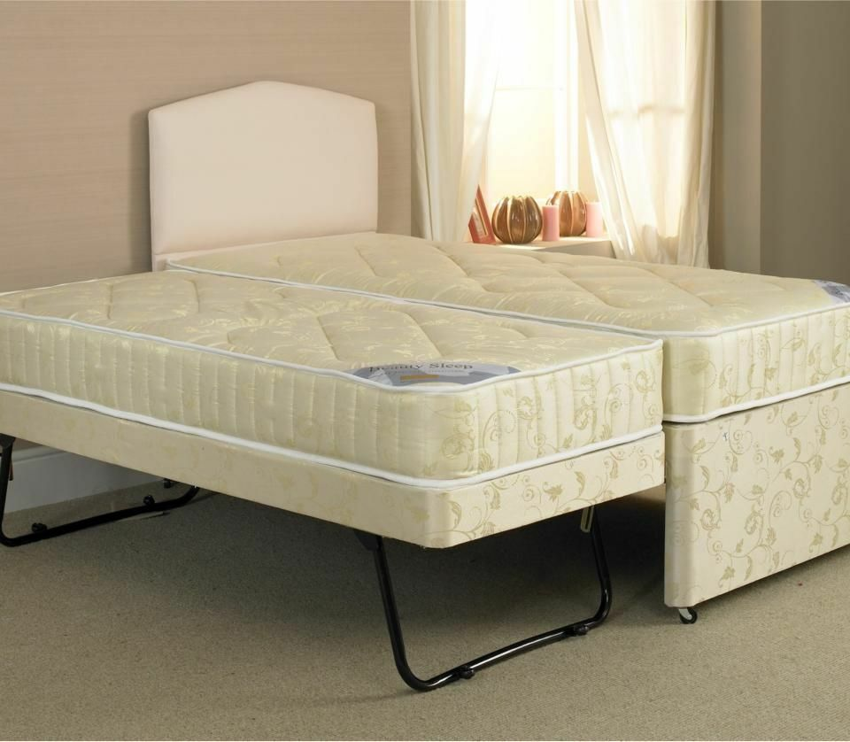 Single 3 In 1 3ft Guest Bed With Under Bed With Trundle
