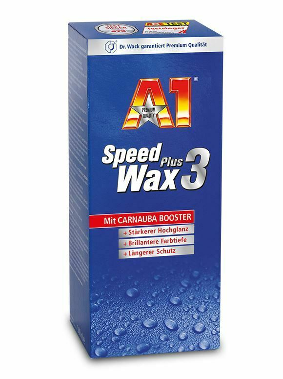 dr wack a1 speed wax plus 3 500 ml autopolitur auto wachs